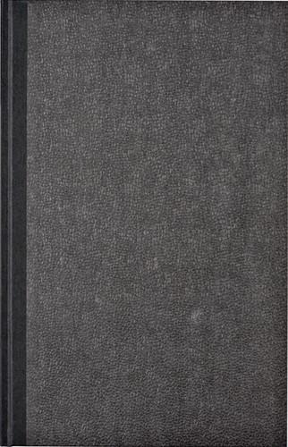 Kasboek 192blz met 2 geldkolommen grijs gewolkt