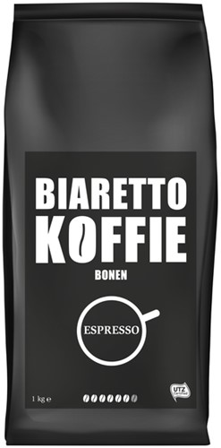 Koffie Biaretto bonen espresso 1000 gram