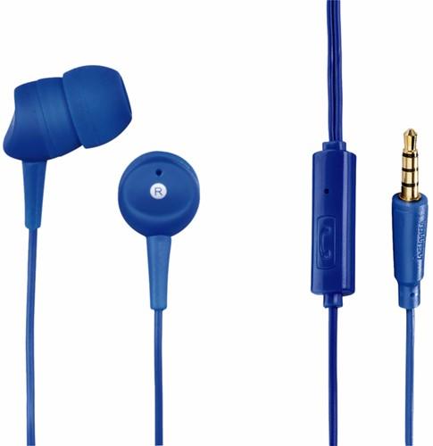 Oortelefoon Hama in-ear Basic blauw