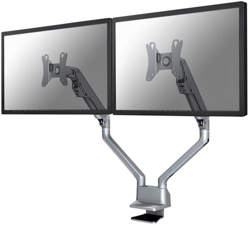 """Monitorarm Newstar D750D 10-32"""" zilver"""