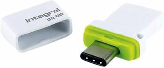 USB-stick Integral 3.0 USB-C Fusion Dual 32GB