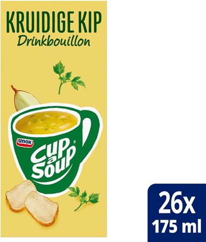 Cup-a-soup heldere bouillon kruidige kip 26 zakjes