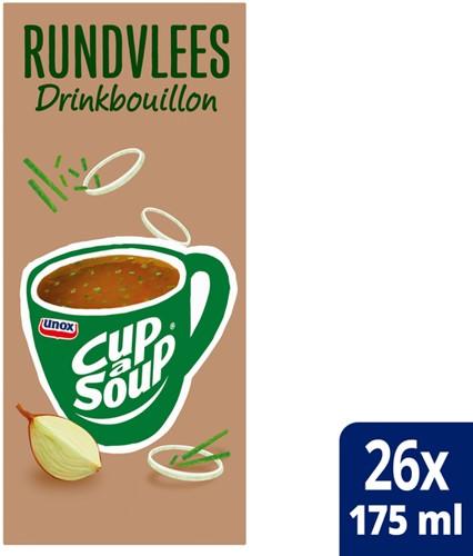 Cup-a-soup heldere bouillon runderbouillon 26 zakjes