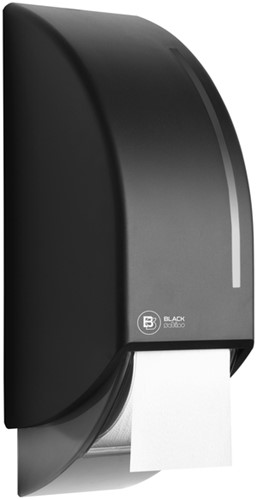 Dispenser Satino Black voor toiletpapier