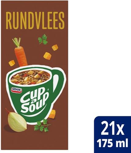 Cup-a-soup rundvleessoep 21 zakjes