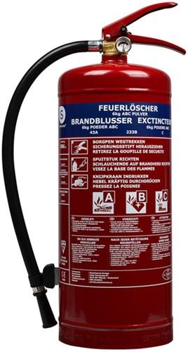 Brandblusser poeder 6kg