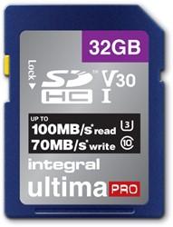 GEHEUGENKAART INTEGRAL SDHC V30 32GB 1 Stuk