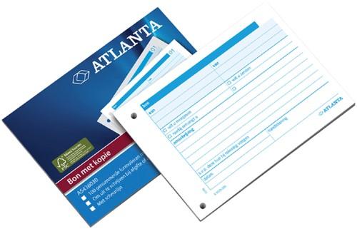 Bonboekje Atlanta A6 100x2vel