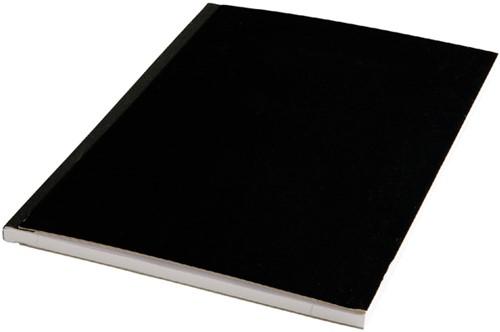 Schrift met harde kaft A4 160blz lijn assorti