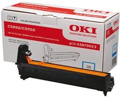 DRUM OKI 43870023 C5850 C5950 BLAUW 1 Stuk