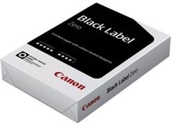 KOPIEERPAPIER BLACK LABEL ZERO A4 80GR WIT 500 Vel
