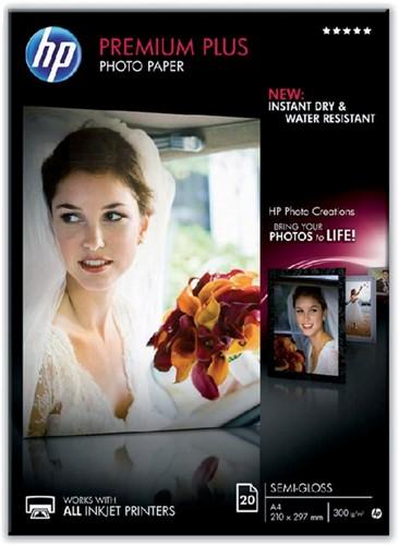 Inkjetpapier HP CR673A A4 semi glossy 300gr 20vel