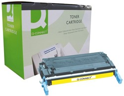 TONERCARTRIDGE Q-CONNECT HP C9722A 8K GEEL 1 STUK