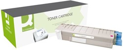 TONERCARTRIDGE Q-CONNECT OKI 43381906 2K ROOD 1 STUK