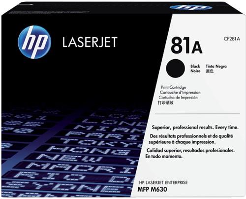 Tonercartridge HP CF281A 81A zwart
