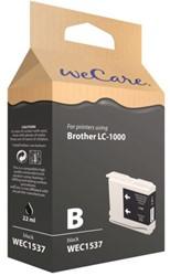 INKCARTRIDGE WECARE BRO LC-1000 ZWART 1 Stuk
