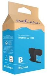 INKCARTRIDGE WECARE BRO LC-1100 BLAUW 1 Stuk
