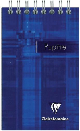 Notitieboek Clairefontaine Puptire 75x120mm spiraal lijn