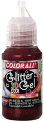 GLITTERGEL COLORALL DECO 3D 25GR ROOD 25 Gram
