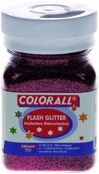 FLASH GLITTER COLORALL 150ML ROOD 150 ML
