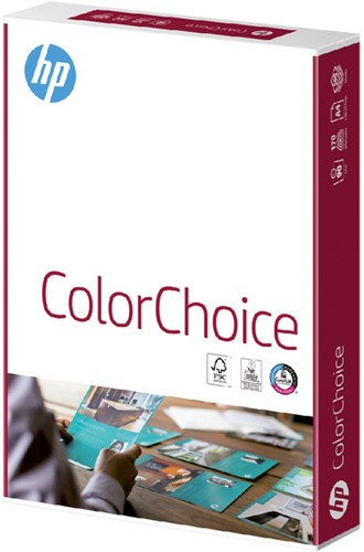 Kleurenlaserpapier HP Color Choice A4 90gr wit 500vel