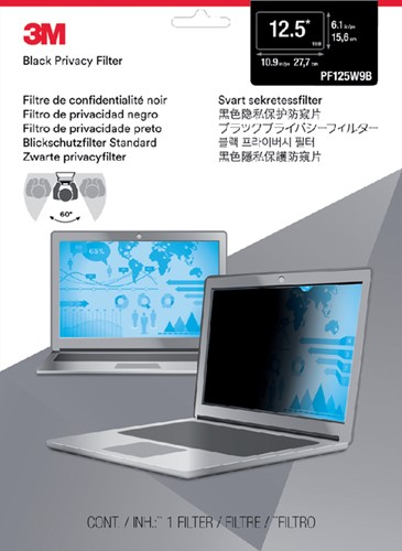 "Privacy filter 3M 12.5"" breedbeeld 16:9"