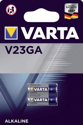 Batterij Varta V23GA alkaline blister à 2stuk