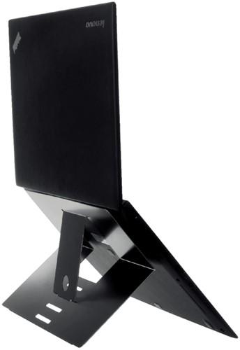 Ergonomische laptopstandaard R-Go Tools Riser attachable zwart