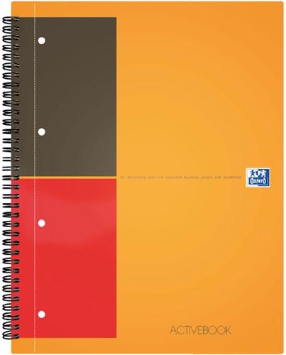 Spiraalblok Oxford International Activebook A4+ lijn