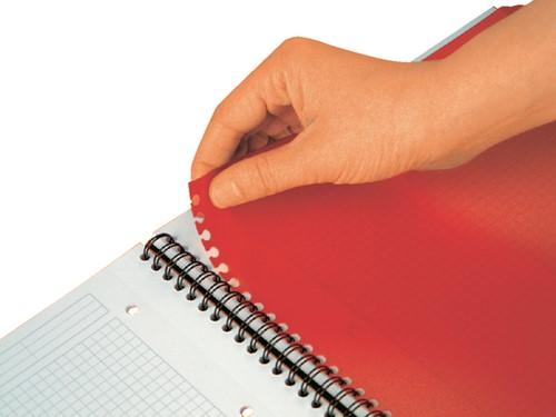 Spiraalblok Oxford International Activebook A5+ lijn