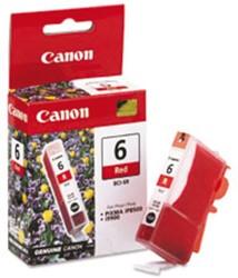 INKCARTRIDGE CANON BCI-6 ROOD 1 Stuk