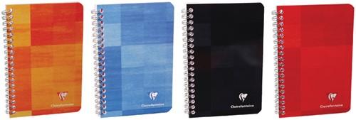 Notitieboek Clairfontaine 110x170mm spiraal lijn